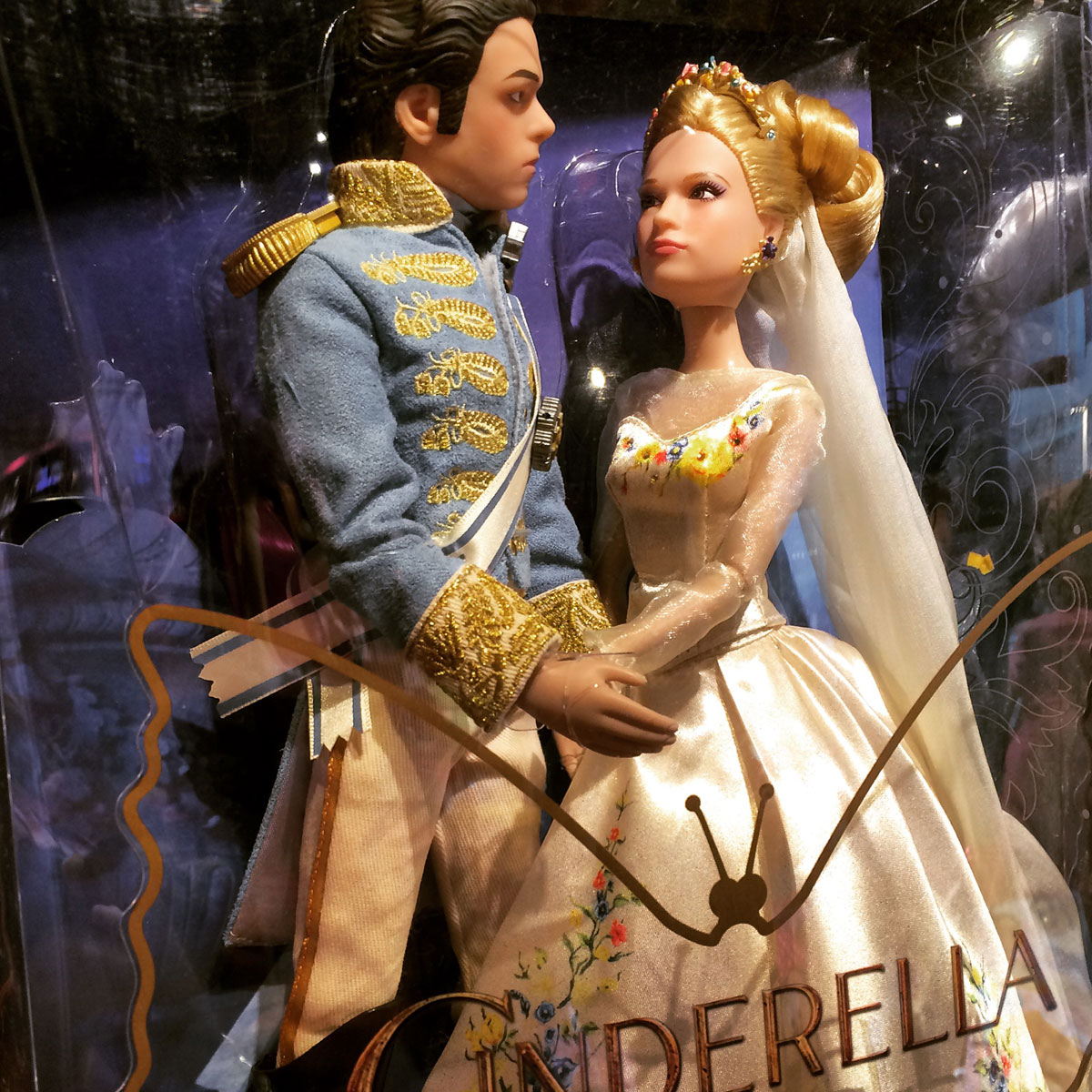 "Yikes. These dolls don't look ""Happily ever after""..."